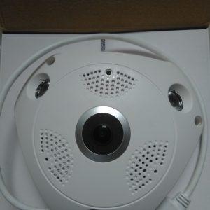 360 Degree 1080P Wireless Fisheye Panoramic IP Camera 2MP Surveillance Security (Buyontheway)