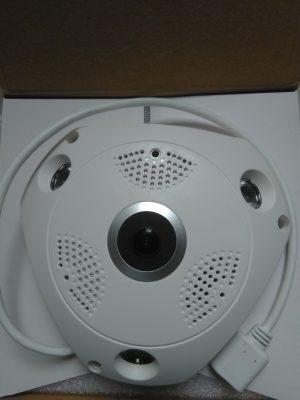 WiFi Panoramic 360DEGREE VR Light Bulb Hidden Camera (Buyontheway)